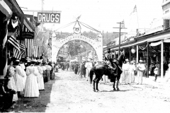 03771 Placerville, Main St, 1896 Indepenence Day